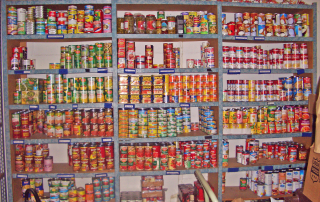 Food Pantry Canned Good Donations